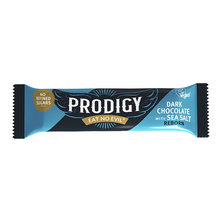 Prodigy Chunky Dark Chocolate with Sea Salt Bar 35g