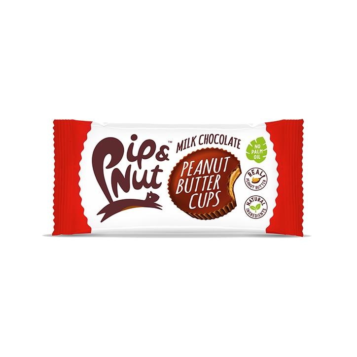 Pip & Nut Milk Chocolate Peanut Butter Cups 34g