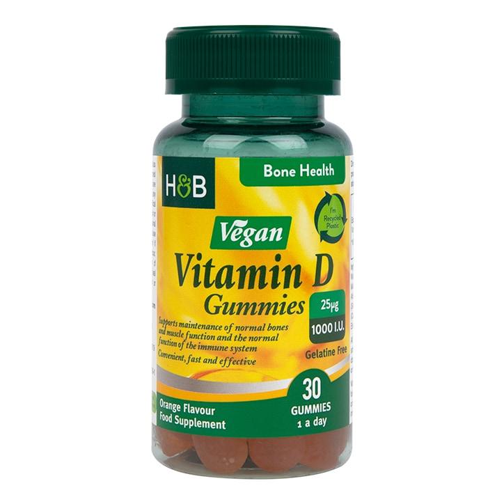 Holland & Barrett Vegan Vitamin D Gummy 30 Chewables