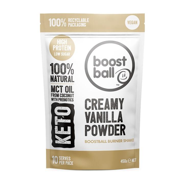 Boost Ball Keto Powder Creamy Vanilla 450g