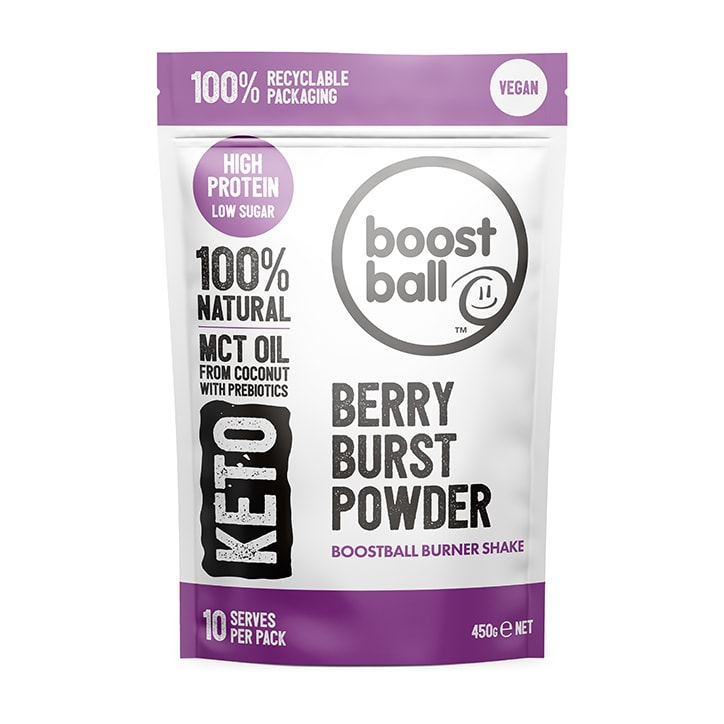 Boostball Keto Powder Berry Burst 450g