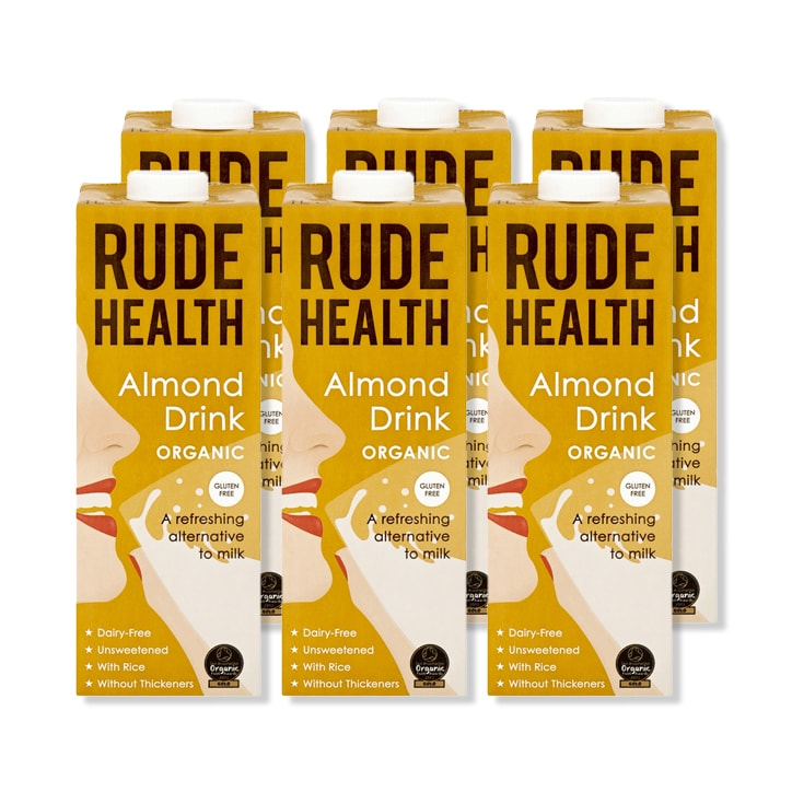 Rude Health Almond Drink 6 x 1L