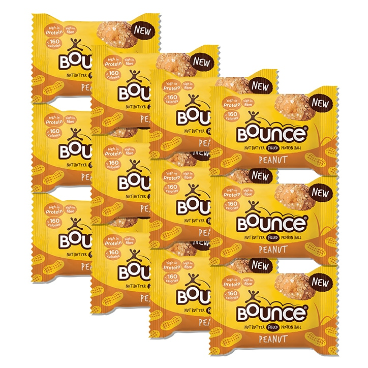 Bounce Peanut Butter Filled Protein Ball 12 x 35g