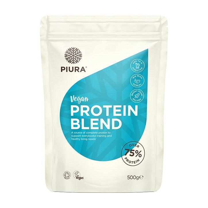 Piura Vegan Protein Blend Unflavoured 500g