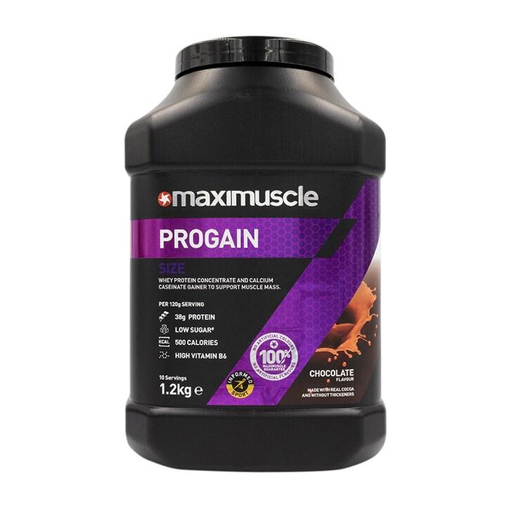 MaxiMuscle Progain Protein Powder Chocolate 1.2kg