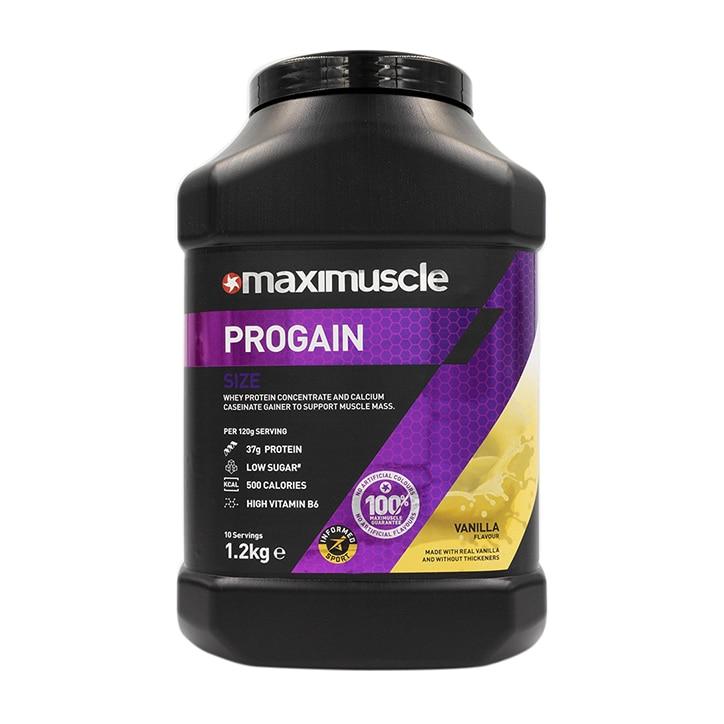 MaxiMuscle Progain Protein Powder Vanilla 1.2kg