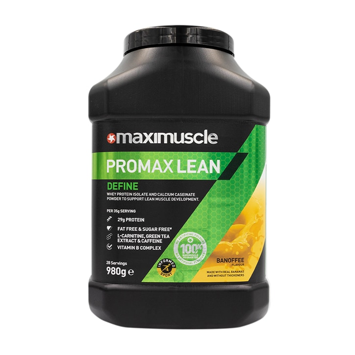 MaxiMuscle Promax Lean Protein Banoffee 980g