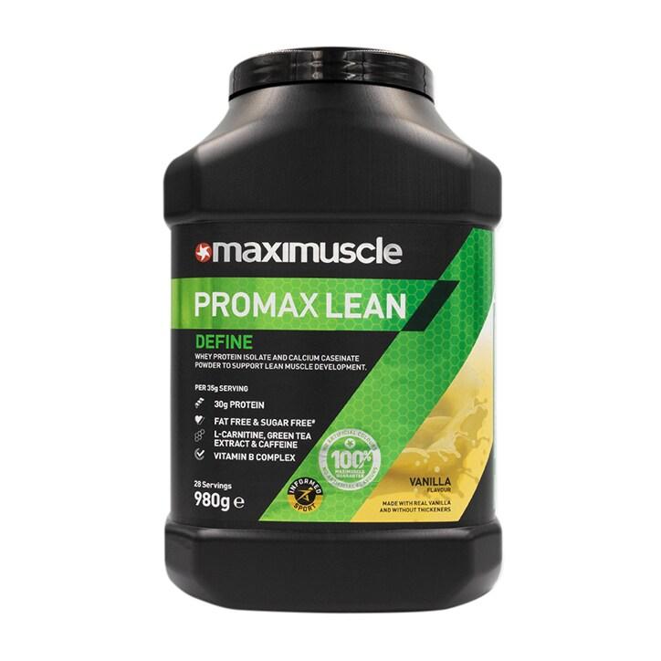 MaxiMuscle Promax Lean Protein Vanilla 980g