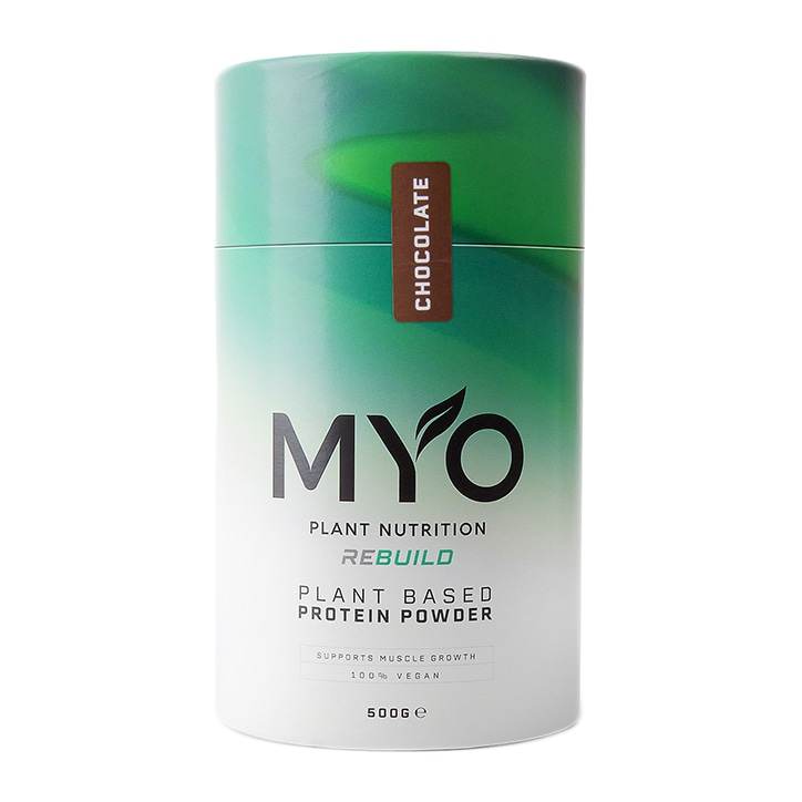 MYO Plant Nutrition Vegan Protein Supplement Chocolate 500g