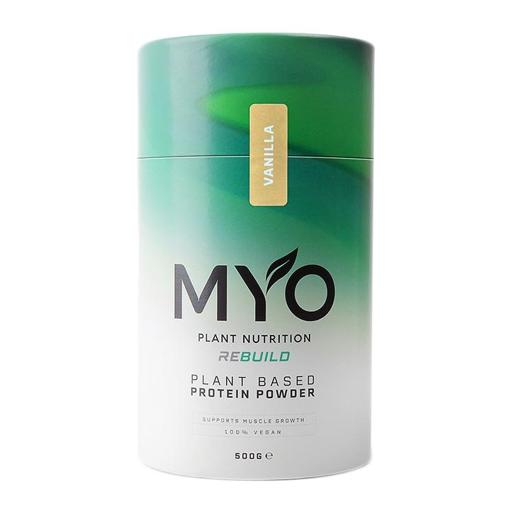 MYO Plant Nutrition Vegan Protein Supplement Vanilla 500g