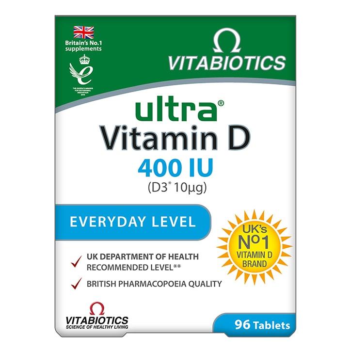 Ultra Vitamin D 400IU 96 Tablets