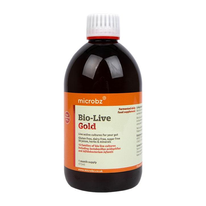Microbz Bio-Live Gold 475ml Formula