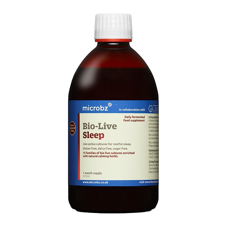 Microbz Bio-Live Sleep 475ml Formula