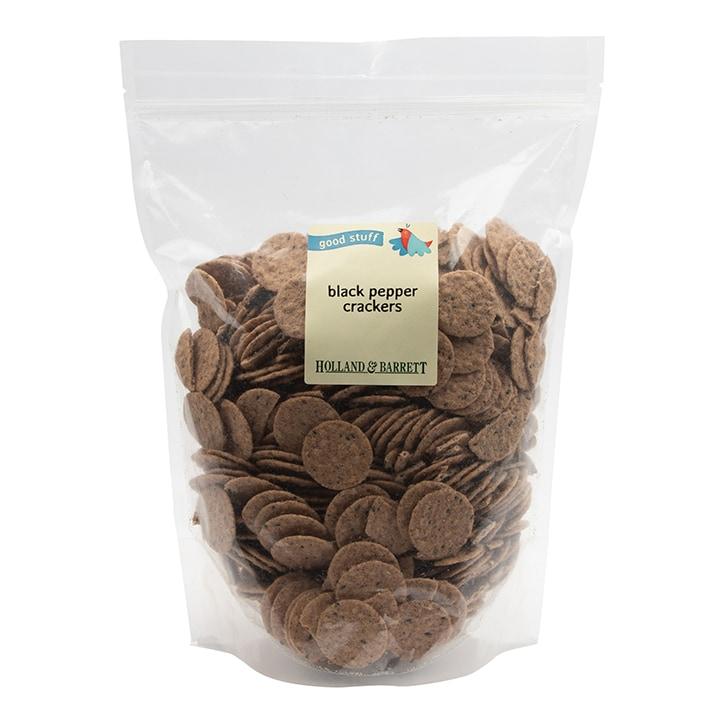 Holland & Barrett Multigrain Black Pepper Crackers 600g