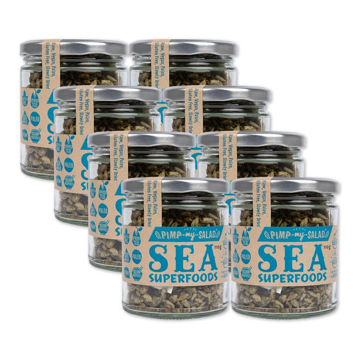 Pimpmysalad Sea Superfoods Jar 8 x 110g
