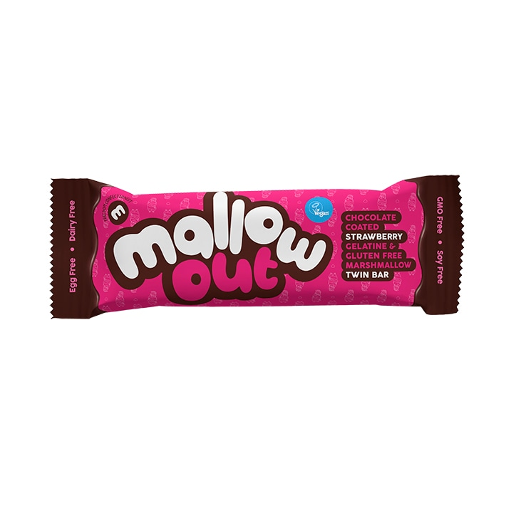 Freedom Mallows Strawberry MallowOut Twin Bar 35g