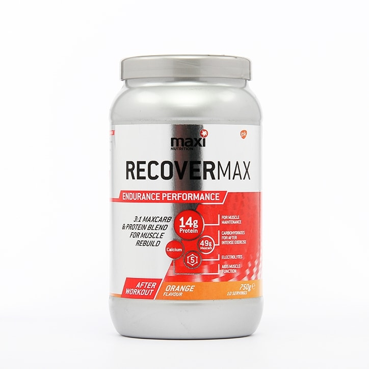 MaxiNutrition Recovermax Orange 750g