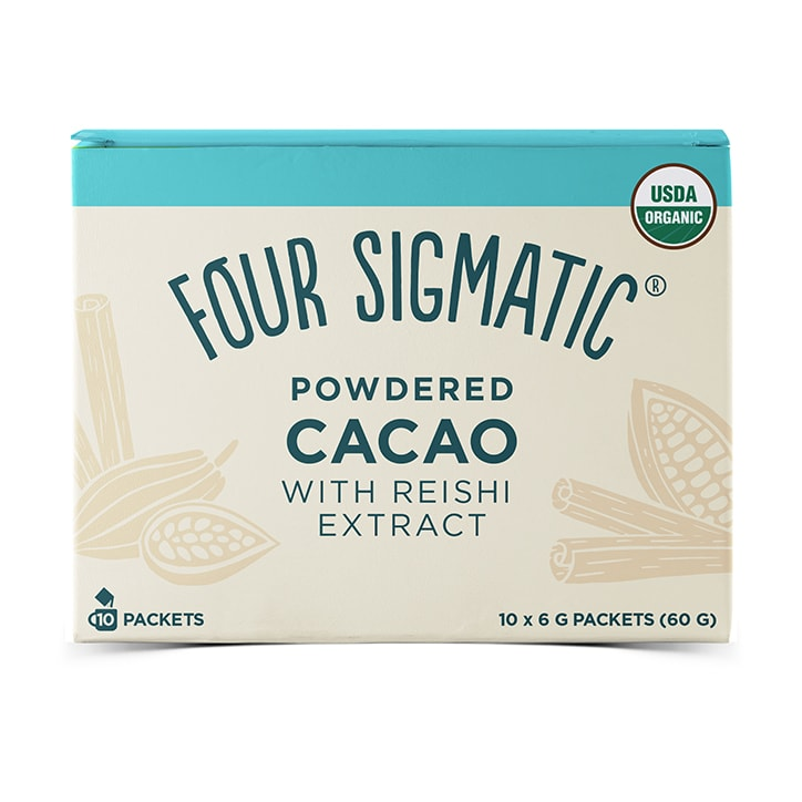Four Sigmatic Mushroom Cacao with Reishi 10 x 6g Sachets