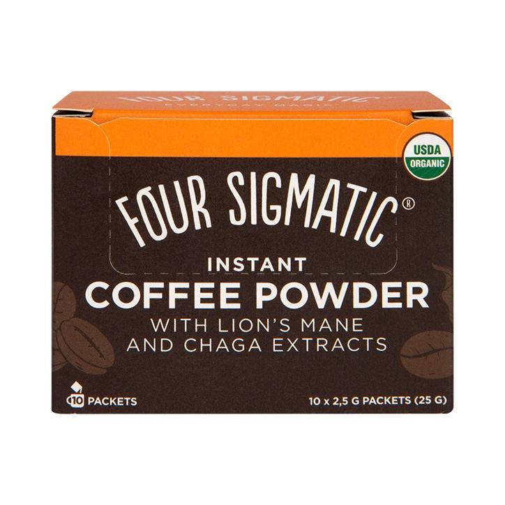 Four Sigmatic Mushroom Coffee Lion's Mane & Chaga 10 Sachets