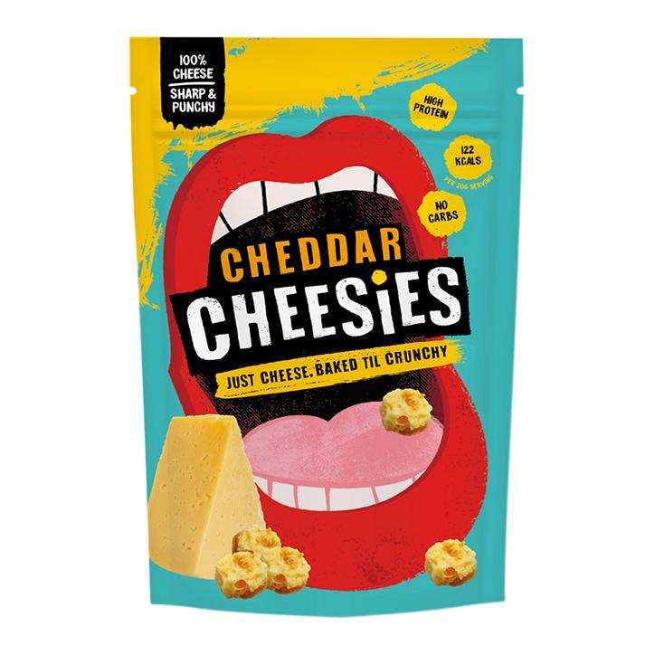 Cheesies Cheddar Crunchy Popped Cheese 60g