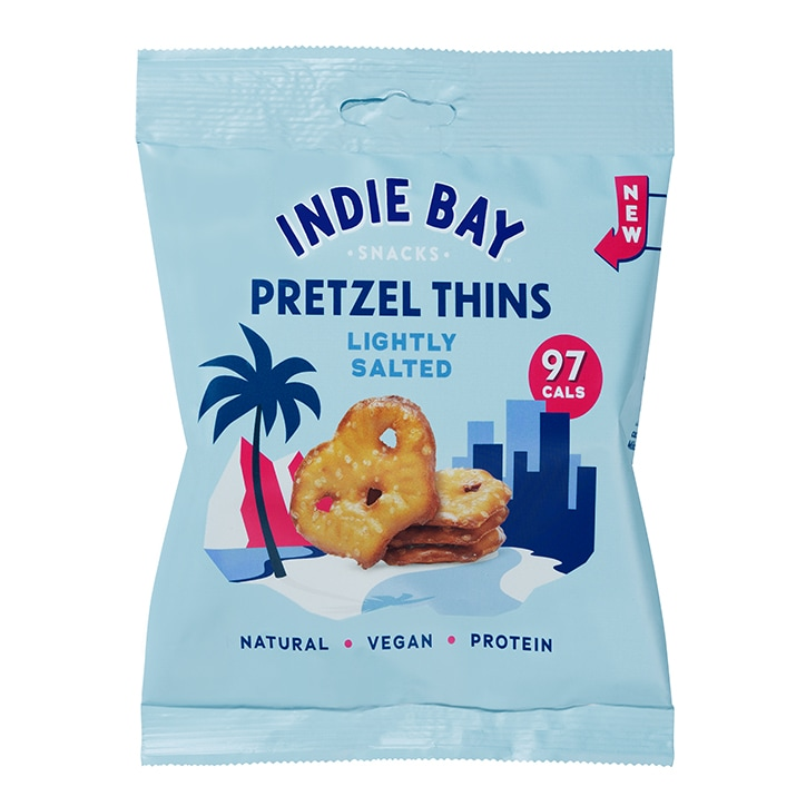 Indie Bay Pretzel Thins Lightly Salted 24g
