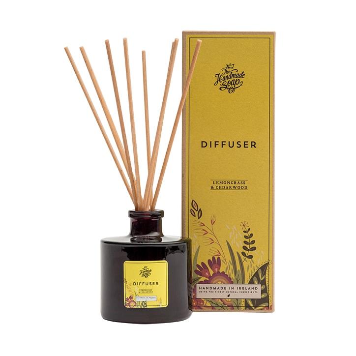 The Handmade Soap Company Lemongrass & Cedarwood Reed Diffuser 180ml