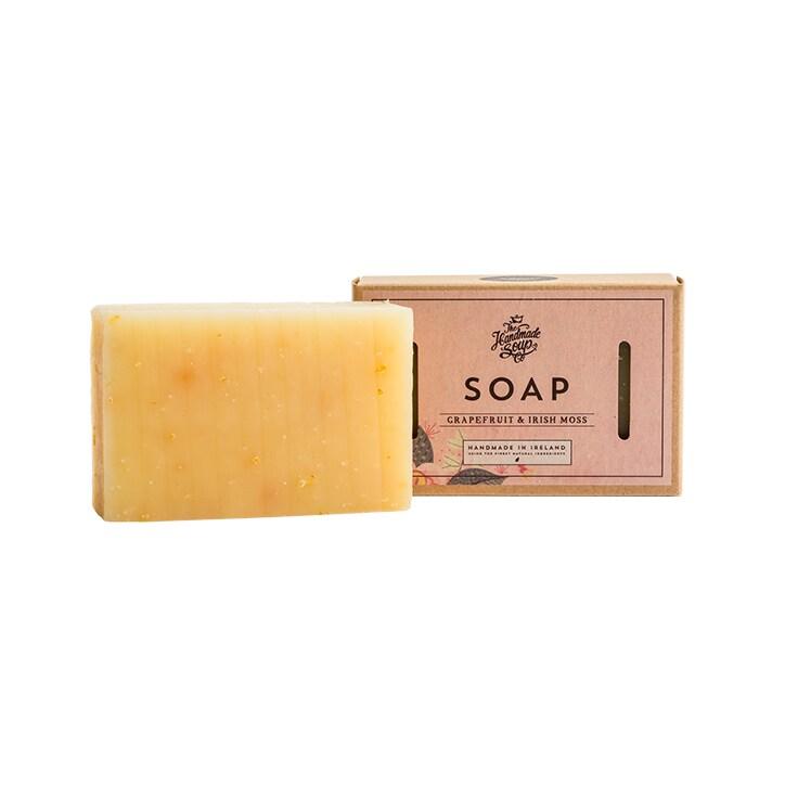 The Handmade Soap Company Grapefruit & Irish Moss Soap Bar 140g