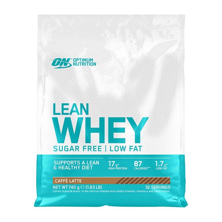 Optimum Nutrition Lean Whey Sugar Free Caffe Latte 740g