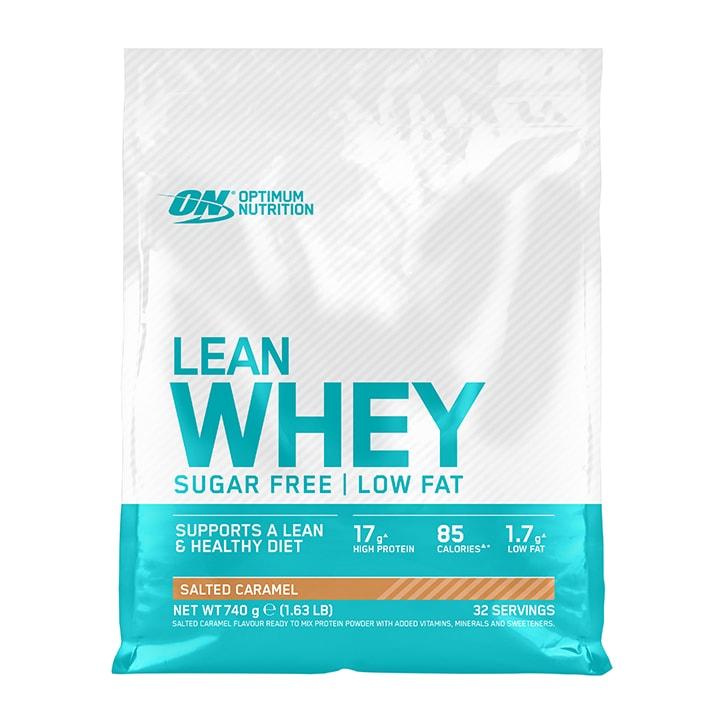 Optimum Nutrition Lean Whey Sugar Free Salted Caramel 740g