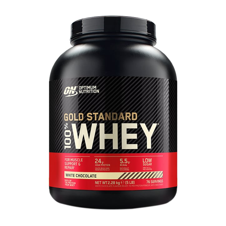 Optimum Nutrition Gold Standard 100% Whey Powder White Chocolate 2.2kg