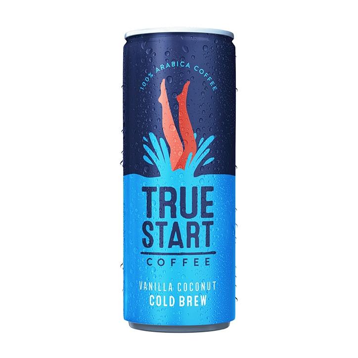 True Start Coffee Vanilla Coconut Cold Brew Coffee 250ml