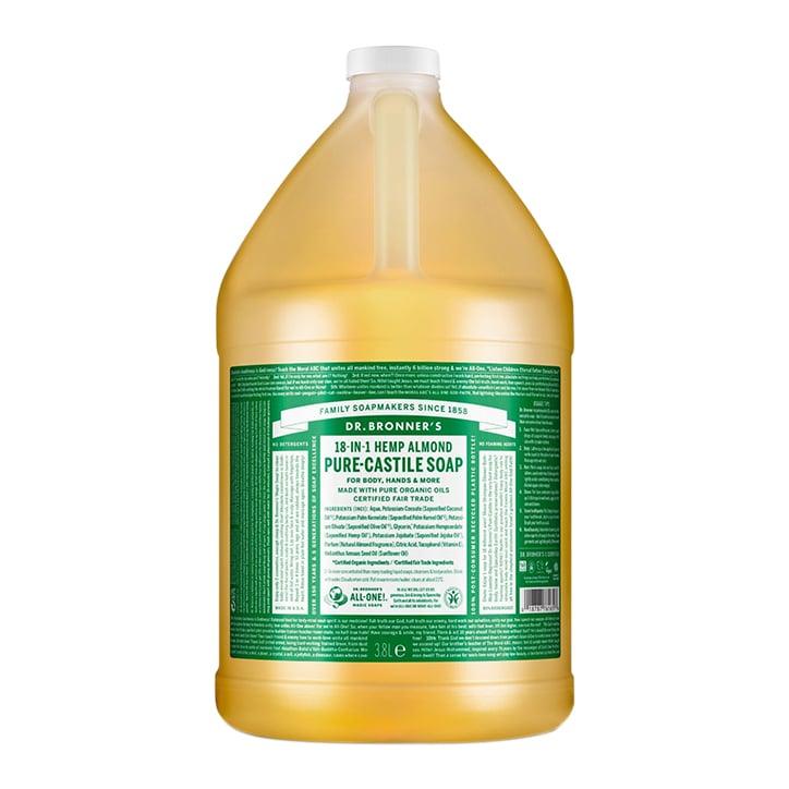 Dr Bronner's Almond Pure-Castile Liquid Soap 3.79l