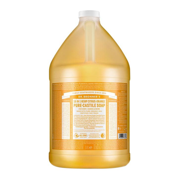 Dr Bronner's Citrus Pure-Castile Liquid Soap 3.79l