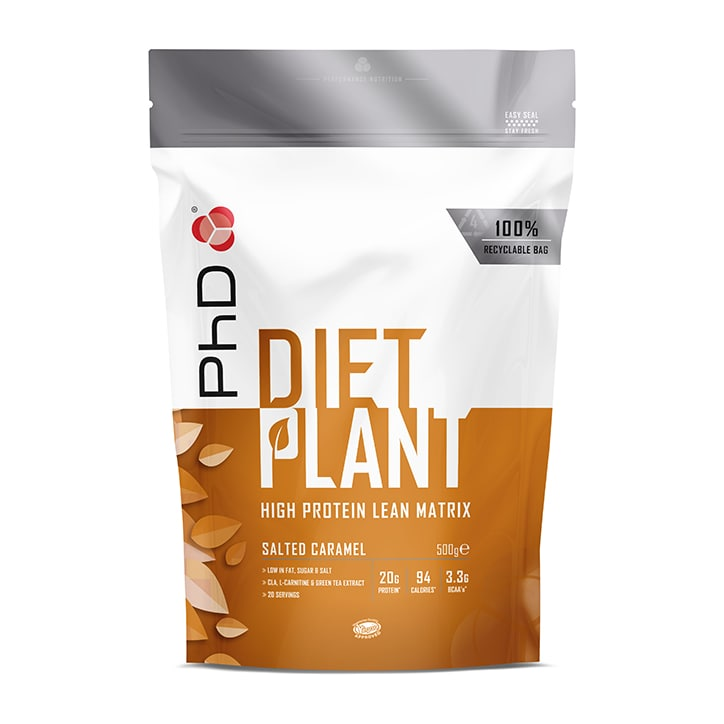 PhD Nutrition Diet Plant Salted Caramel 500g