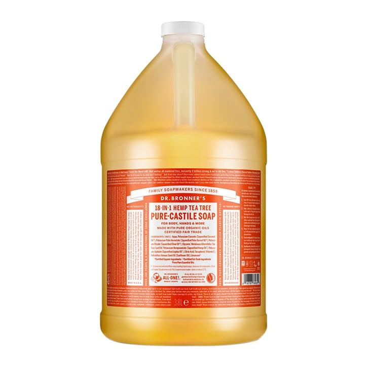 Dr Bronner's Tea Tree Pure-Castile Liquid Soap 3.79l