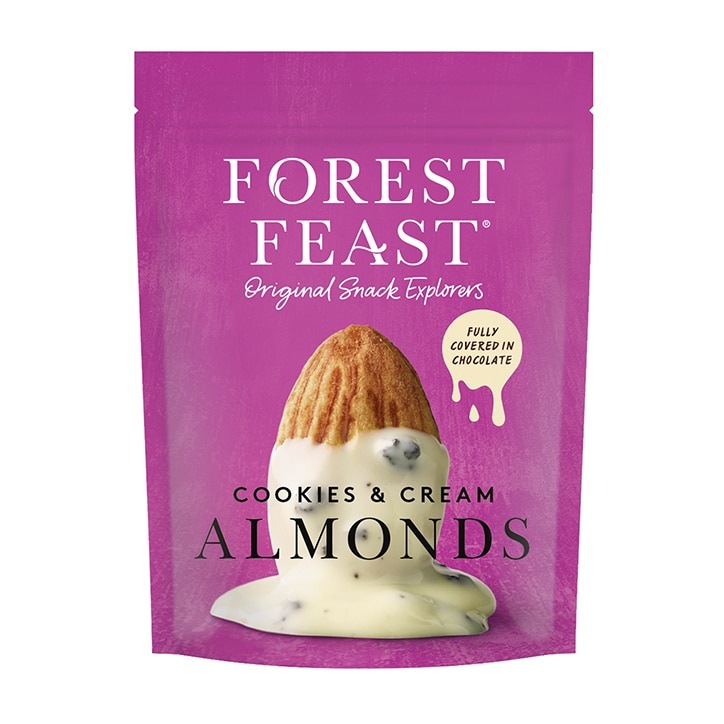 Forest Feast Cookies & Cream Almonds 120g