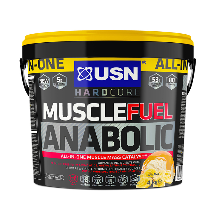 USN Muscle Fuel Anabolic Banana 4kg