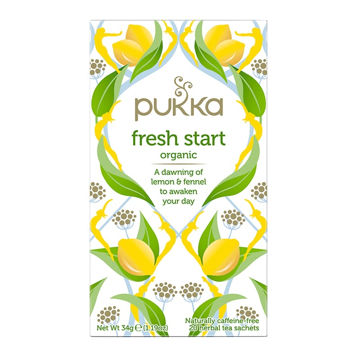 Pukka Fresh Start Organic Herbal Tea 20 Sachets