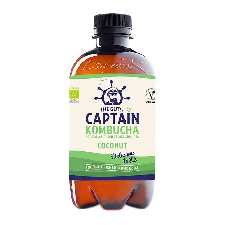 Gutsy Captain Coconut Kombucha 400ml