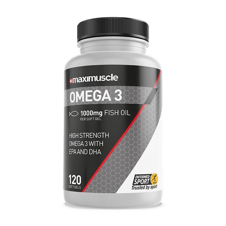 MaxiMuscle Omega 3 Fish Oil 175g