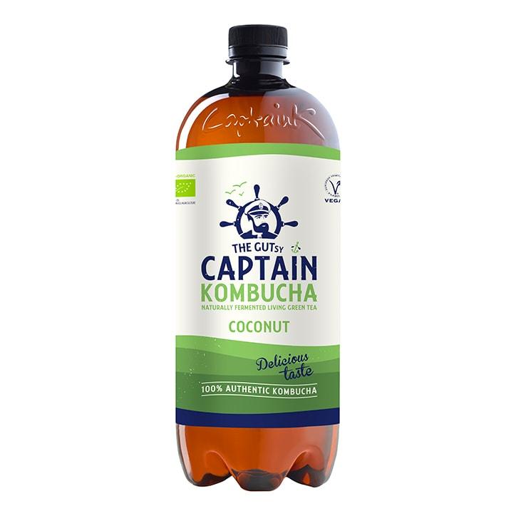 The GUTsy Captain Kombucha Coconut Kombucha 1 Litre