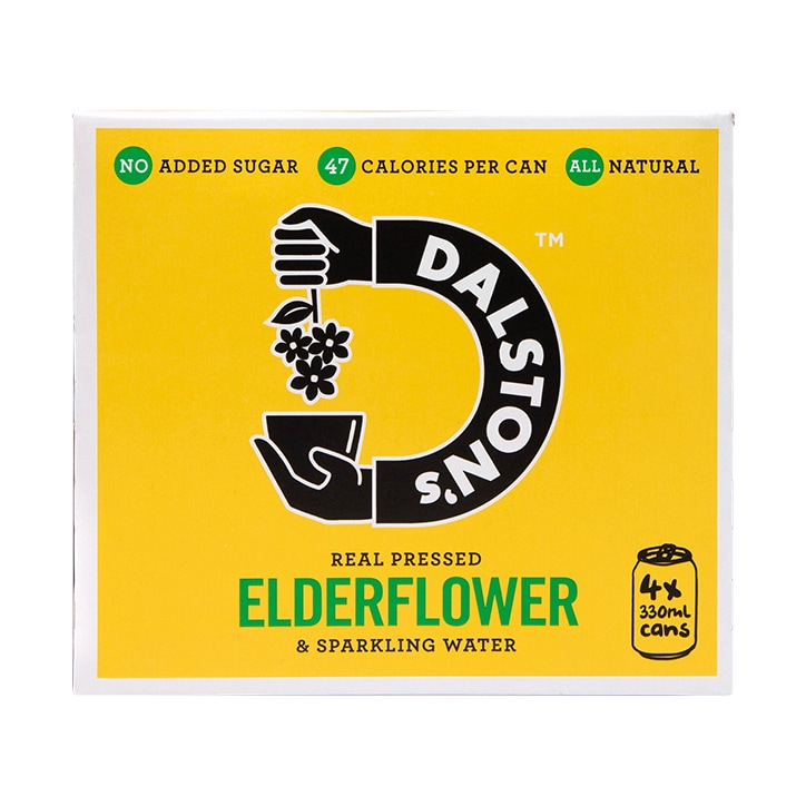 Dalston's Elderflower Seltzer Multipack 4 x 330ml