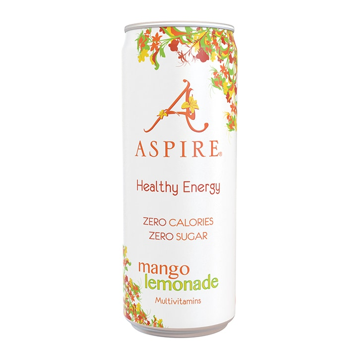 ASPIRE Healthy Energy Mango Lemonade 330ml