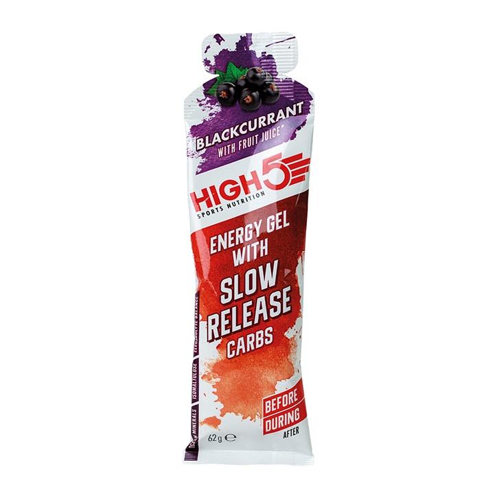 High5 Gel Slow Release Blackcurrant 62g