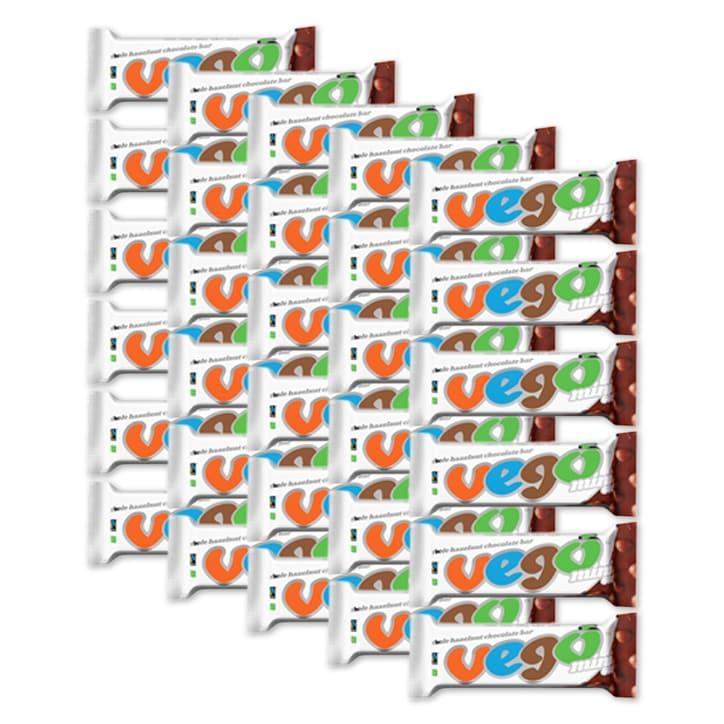 Vego Organic Hazelnut Chocolate Bar 30 x 65g