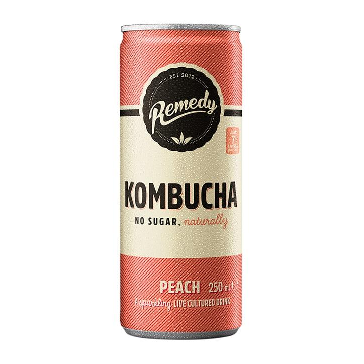 Remedy Kombucha Peach 250ml