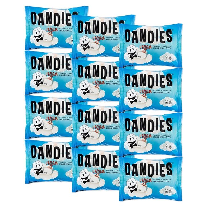 Dandies Vegan Vanilla Marshmallows 12 x 200g