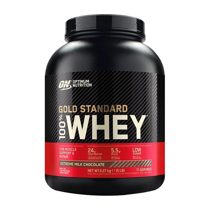 Optimum Nutrition Gold Standard 100% Whey Protein Extreme Milk Chocolate 2.2kg