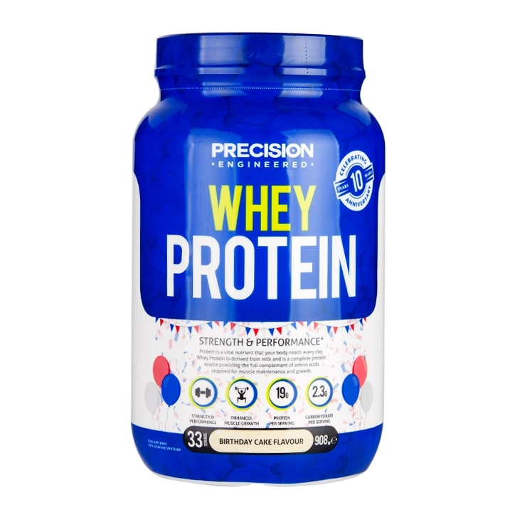 Precision Engineered Whey Protein Birthday Cake 908g 2999