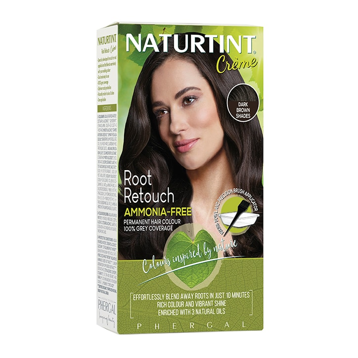 Naturtint Root Retouch Crème - Dark Brown 45ml